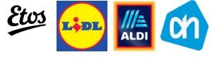 logos winkel die zelftest verkopen